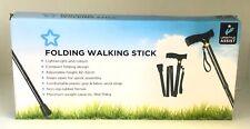 Folding Walking Stick Cane - Lifestyle Assist - Superdrug