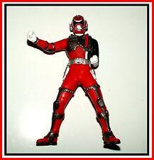 Power Rangers Sentai Hero Vinyl Figure _ S.P.D. Red Sound Ranger