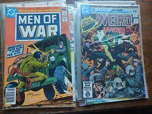7 DC war comics 1st creature commando nm condition