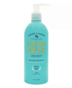 HAND IN HAND Sustainable Suds Hand Soap Sea Salt Sweet Mint & Eucalyptus