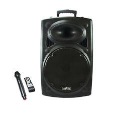 "Befree Sound 15"" 900W Bluetooth Portable Pa Dj Party Speaker Usb / Remote / Mic"