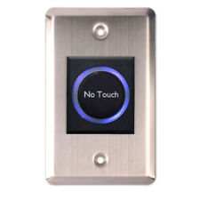 Infrared IR Sensor Touchless Button No Touch Door Exit Release Switch With LED