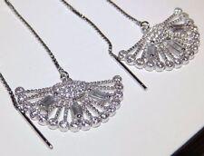 Simulated Diamond Drop/Dangle Fine Earrings