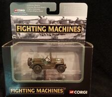 NEW CORGI FIGHTING MACHINES WWII 2003 WILLY'S JEEP (CORGI-1)