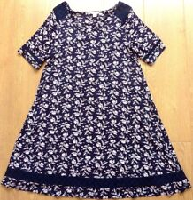 Monsoon Short Sleeve Flora Summer Dress Size UK 10 EUR 38