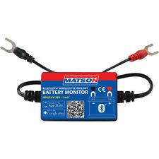 Matson Battery Monitor Bluetooth Wireless Charging Cranking Dual Battery