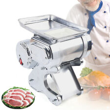 550w Electric Meat Slicer Food Beef Mutton Cutter Machine 55kgh Commercial Usa