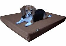 Gel Memory Foam Pet Bed Durable Orthopedic Waterproof for Small Extra Large Dogs