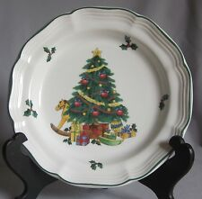 Salad Plate Mikasa China Yule Glow Pattern French Countryside Line
