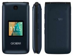 Alcatel Go Flip - T-mobile 4044C - Blue 4g LTE Flip Phone