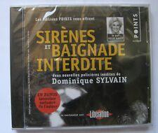 JULIE GAYET LIT DOMINIQUE SYLVAIN (CD)  SIRENES & BAIGNADE INTERDITE     NEUF