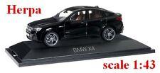 BMW X4 (F26) noir uni - Herpa - Echelle 1/43