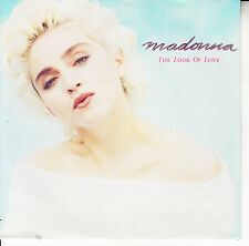 "MADONNA  The Look Of Love PICTURE SLEEVE 7"" 45 record NEW + juke box title strip"