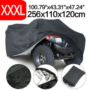 XXXL Waterproof Quad Bike ATV Cover Outdoor Rain All Weather Storage Protector