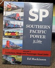 MORNING SUN BOOKS - SOUTHERN PACIFIC POWER Volume 1 - In Color - HC 128 Pages