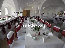 Hochzeitsdeko STUHLHUSSEN Stuhlbezüge Stretch 1,50 Euro inkl. Reinigung
