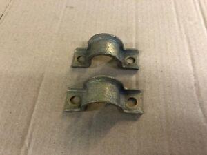 Ford Escort mk2 Anti rollbar clamps..zinc plated.