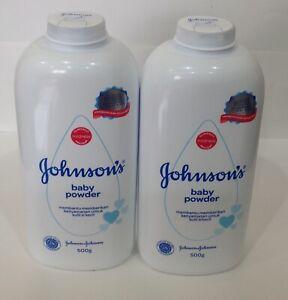 Johnson's Baby Powder 500g/ 17.6 oz (Pack of 2)
