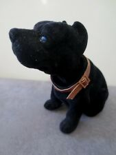 Pit Bull Dog  / Black Bobbing Head Dog /  Bobble Head Toy