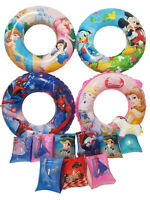 Kids Boys Girls Inflatable Swim Rings Arm Bands Beach Ball Toys Armbands Floats