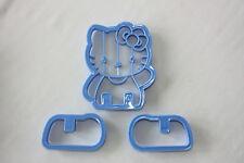Hello Kitty, 3D Cookie Cutters, Decoración De Pasteles, Galletas, Pastelería
