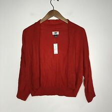 Old Navy Size Small Red Orange Cardigan New nwt