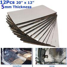 5mm Sound Proofing Deadening Mat Heat Insulation Material Mat Pad 12pcs