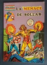 Captain America 14 La Menace de Sollar Artima Color Marvel