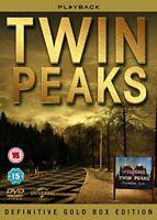 Twin Peaks - Definitive Gold Box Edition [DVD] (Slimline Packaging) [1990] [DVD]