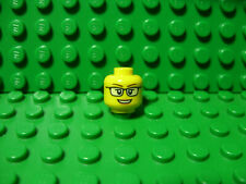 LEGO New head - female, open mouth smile with glasses