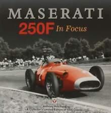 LIVRE LIMITÉ : MASERATI 250F - A collector's limited edition (grand prix formula
