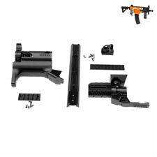 Worker MOD F10555 MP5K PWD Black 3D Print Barrel Jacket Kit for Nerf STRYFE Toy