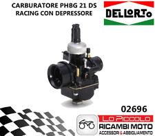 02696 CARBURATORE PHBG 21 DS DELL'ORTO NERO RACING CON MISCELATORE E DEPRESSORE