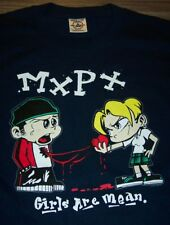 MXPX GIRLS ARE MEAN PUNK BAND T-Shirt YOUTH XL 18-20 NEW