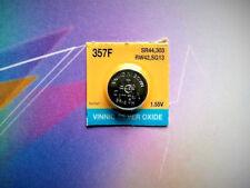 1 pc Vinnic 357 (Sr44W) 1.5V Silver Oxide Battery