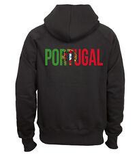 Sweat shirt à capuche noir homme Fruit of the loom PORTUGAL