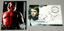 Original Hellboy Rupert Evans as Agent John Myers Official 2004 Signed Card