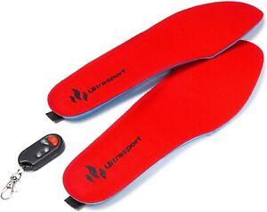 Ultrasport Schuhheizung Deluxe  kabellose, beheizbare Thermosohle, Fu 01B9316M