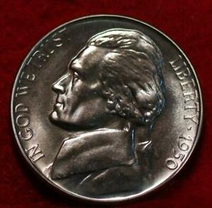 Uncirculated 1950 Philadelphia Mint Jefferson Nickel