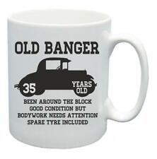 35th Novelty Birthday Gift Present Tea Mug Old Banger 35 Years Old Coffee Cup