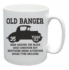 35th Novelty Birthday Gift Present Tea Mug Old Banger 35 Years Old Coffee Cup