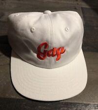 50a3923ebba BROCKHAMPTON White orange Letter BASEBALL CAP   HAT Strap