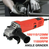 850W 11000RPM Electric Angle Grinder Portable Sanding Cutting Grinding Tool