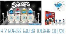 Smurfs 3d Eau De Toilette 4 X 50ml Spray Fragrances Gift Set EDT Childrens