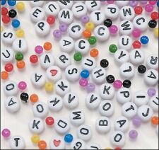 Alphabet Bright Colors Bead Kit (about 500 pieces)