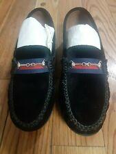 Atlanta mocassin black velvet loafer size 39