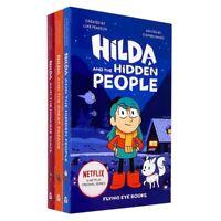 Hilda Netflix Original Series 3 Book Set Collection By Stephen Davie NEW