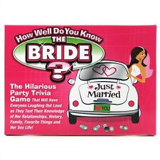 Bachelorette Party HOW WELL DO YOU KNOW THE BACHELORETTE? Bridal Shower Game