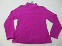 C9 CHAMPION Fleece Jacket Women's Size M 1/4 Zip Pull Over Long Sleeve Pink