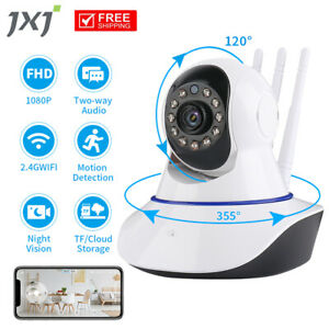 1080P WiFi IP Camera Home Security Baby Monitor JXJMinions CCTV Night Vision CAM